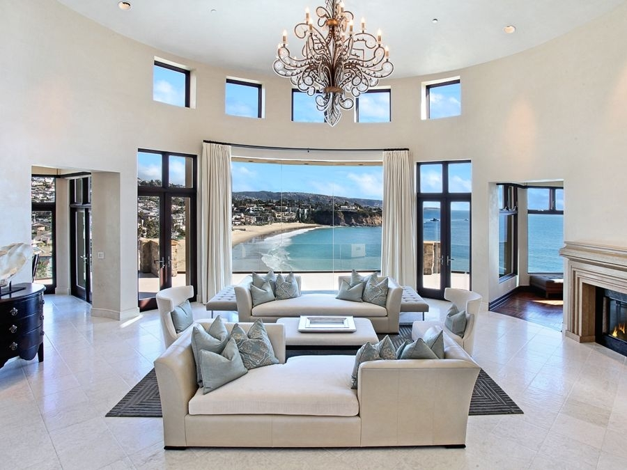 168 Emerald Bay Laguna Beach Orange County California Ocean View Living Room  Home Decor Pin