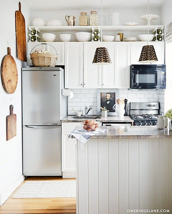25 Absolutely Beautiful Small Kitchens That Prove Size Doesn'T Matter  Tiny House Kitchen
