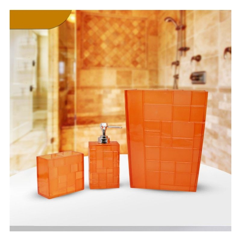 3 Pcsset Bathroom Toiletries And Toiletries Three Sets Of Bathroom Life Articles Box Style