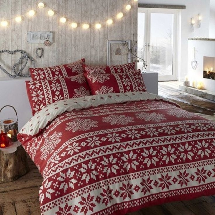 30 Christmas Bedroom Decorations Ideas  Christmas Bedding Christmas Bedroom Christmas Room