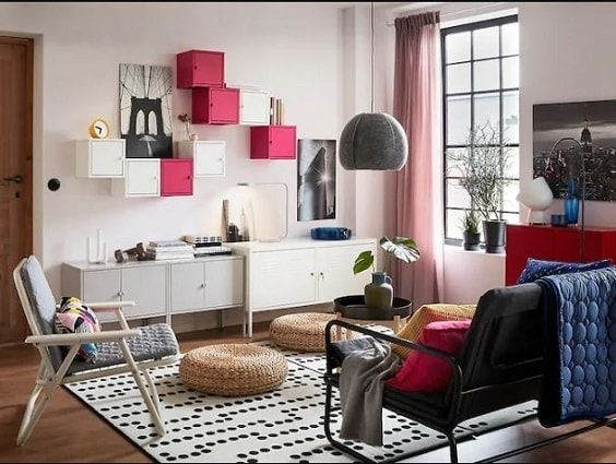 30 Most Beautiful Ikea Living Room Ideas Of 2018 To Copy