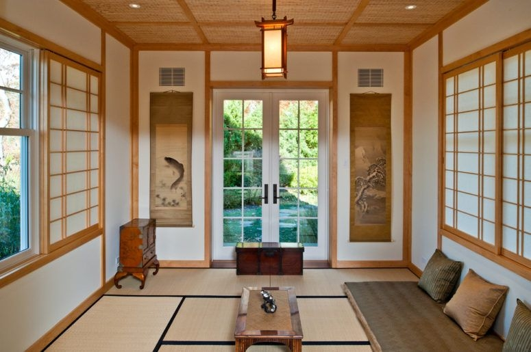 31 Serene Japanese Living Room Décor Ideas  Digsdigs