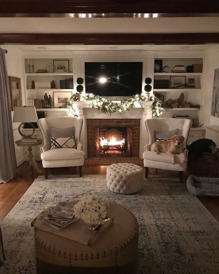 35 Incredible Farmhouse Living Room Design Ideas And Decor 20 In 2020  Cottage Living Rooms