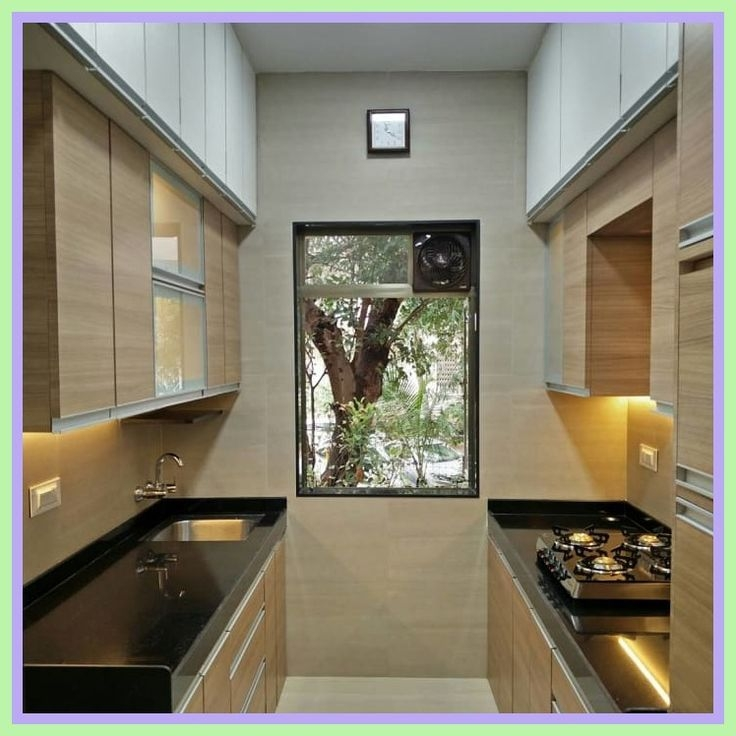37 Reference Of Parallel Kitchen Interior In 2020  Very Small Kitchen Design Interior Kitchen