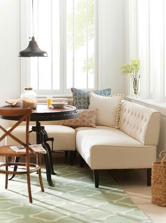 40 Best Breakfast Nook Images On Pinterest  Furniture Kitchens And Banquettes