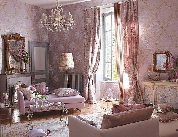 40 Shabby Chic Living Room Interior Designs For A Romantic Atmosphere