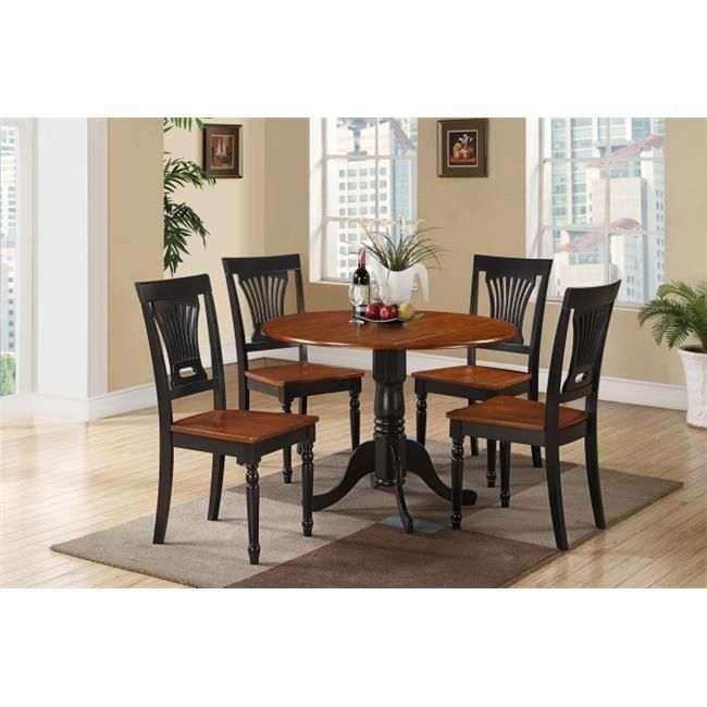 5 Piece Small Kitchen Table And Chairs Settable And 4 Dinette Chairs  Walmart