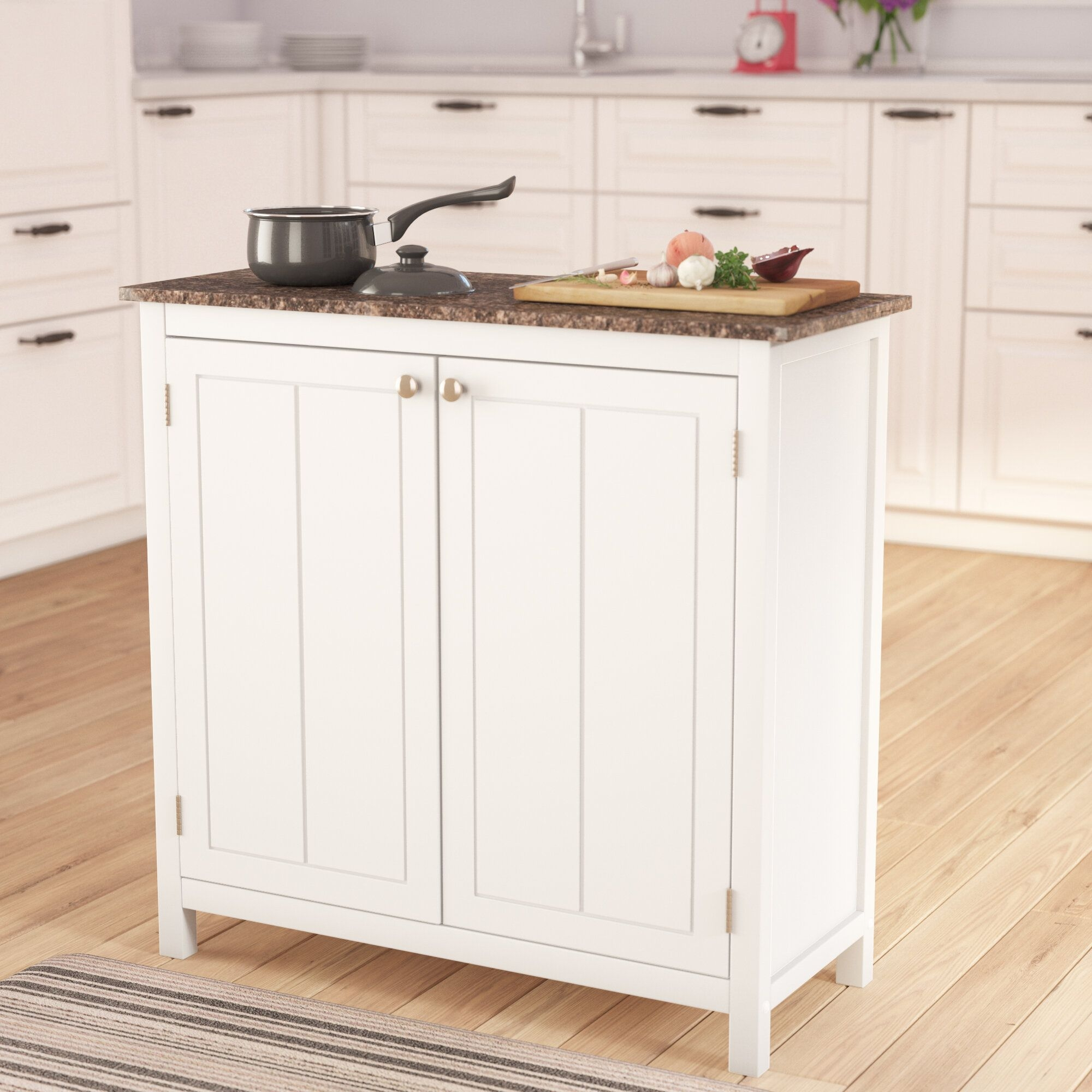 Alcott Hill Haubrich Kitchen Island  Reviews  Wayfair