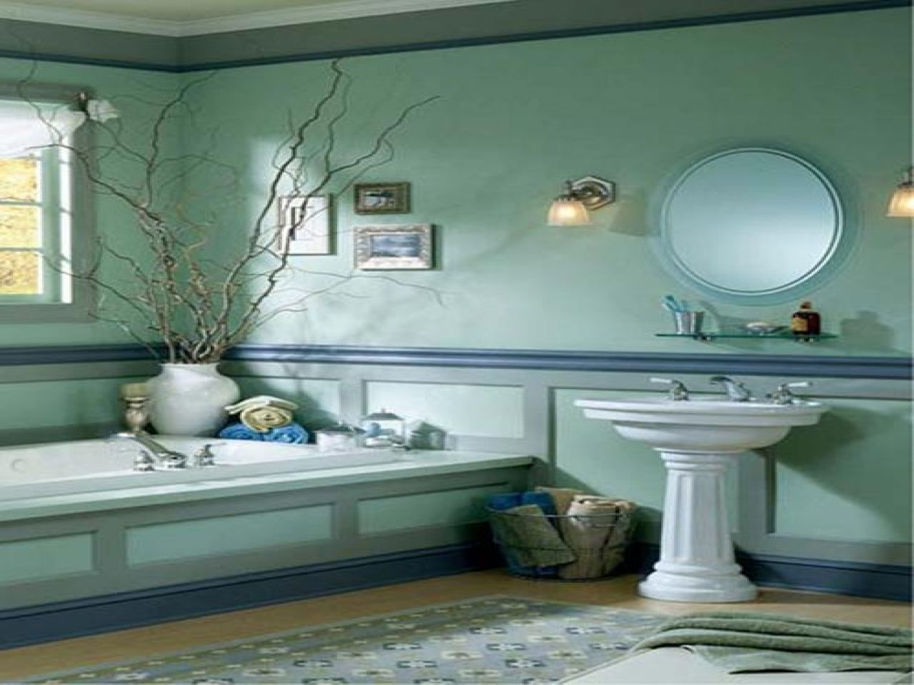 Bathroom Cool Ideas And Inspiration For Nautical Themed Bathroom Design — Tahfa