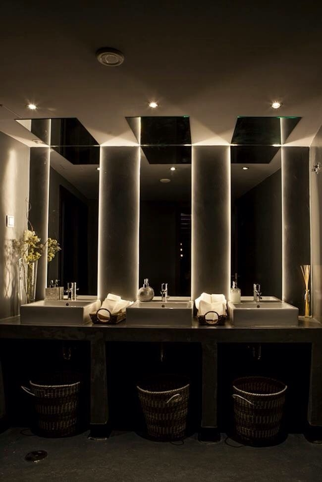 Beautiful Washrooms  Trendy Bathrooms  Restroom Design Restaurant Bathroom Washroom Design