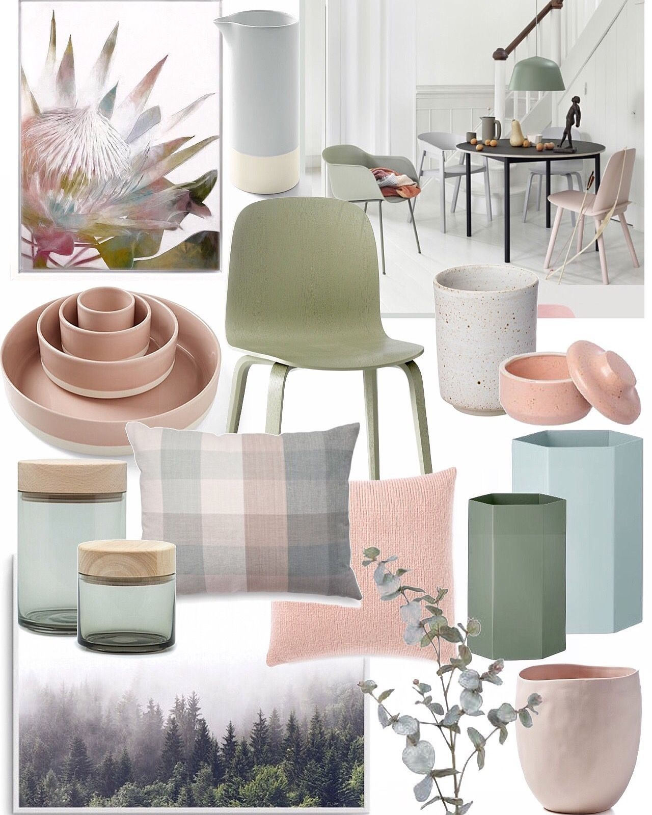 Blush Pink Ice Blue Sage Grey  Living Room Green Sage Green Living Room Bedroom Green