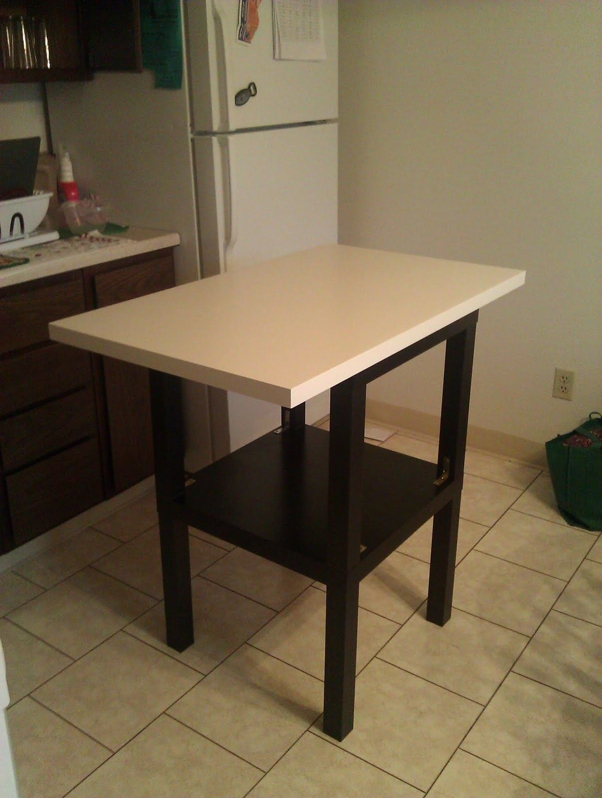 Cheap Lack Kitchen Island  Ikea Hackers