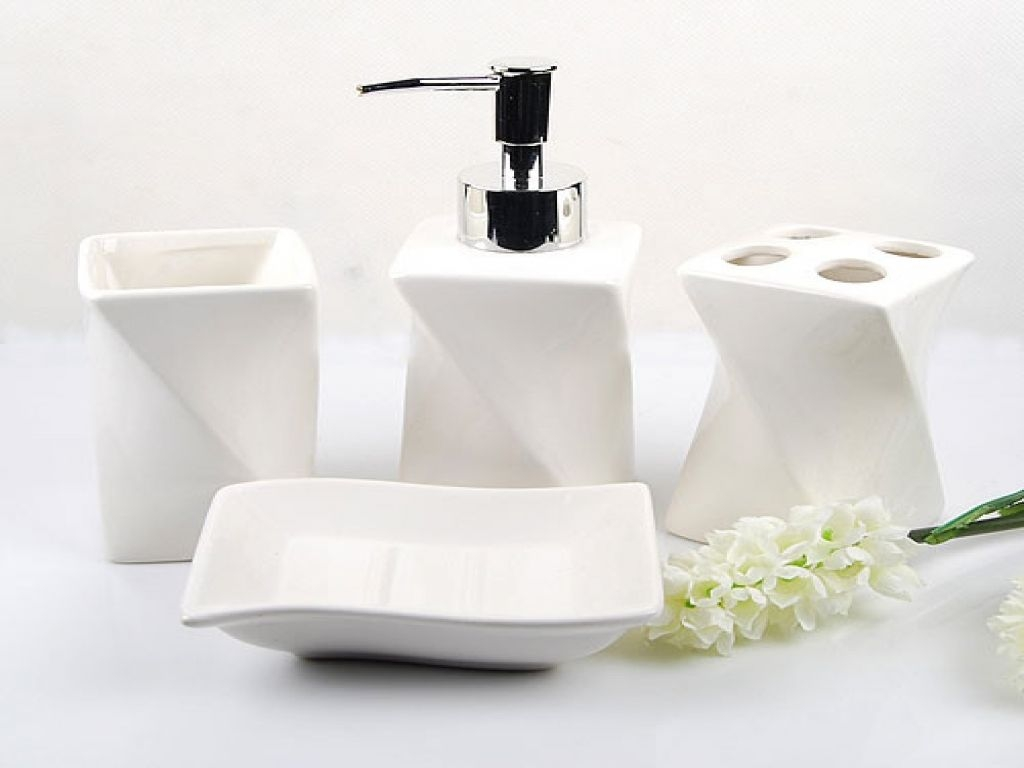 Contemporary Bath Accessories Black Bathroom Accessories White Bathroom Accessories Sets