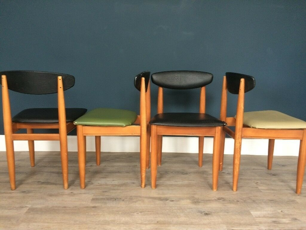 Danishretro Style Diningkitchen Chairs  In Bridgwater Somerset  Gumtree
