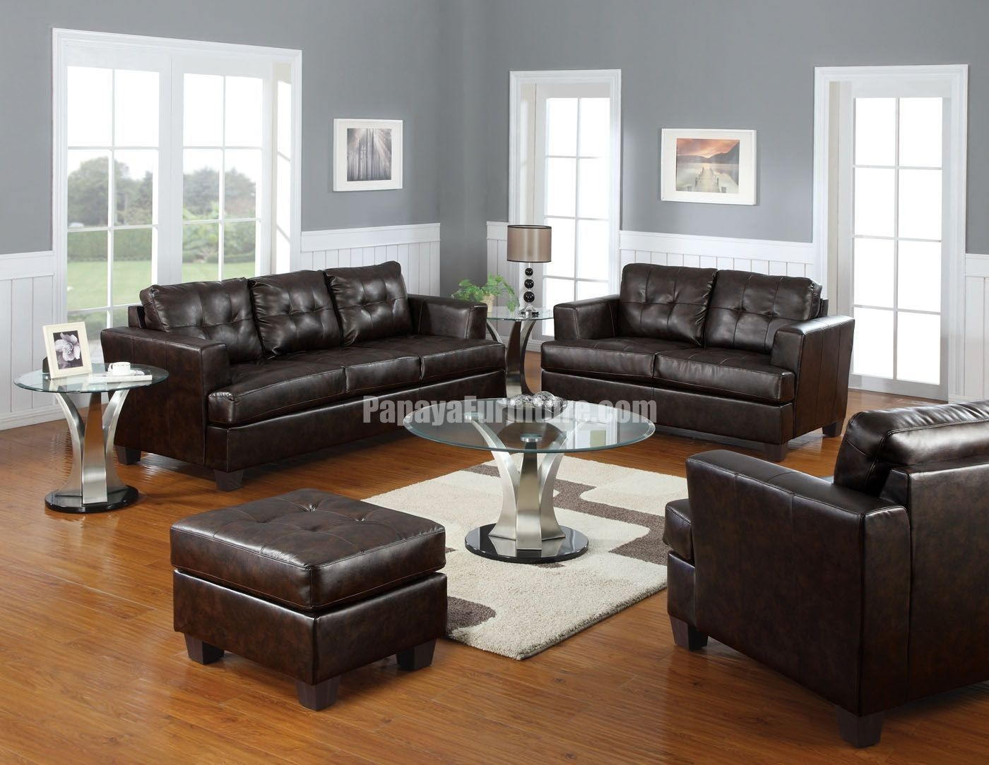 Dark Brown Couch Decorating Ideas  Dark Brown Leather Couches Dark Brown Leather Couches