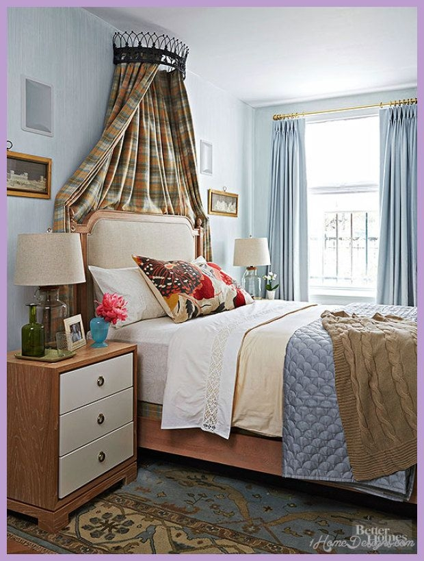 Decorating Ideas For Small Bedroom  1Homedesigns