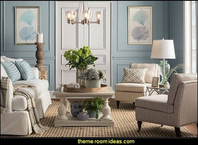 Decorating Theme Bedrooms  Maries Manor Seaside Cottage Decorating Ideas  Coastal L