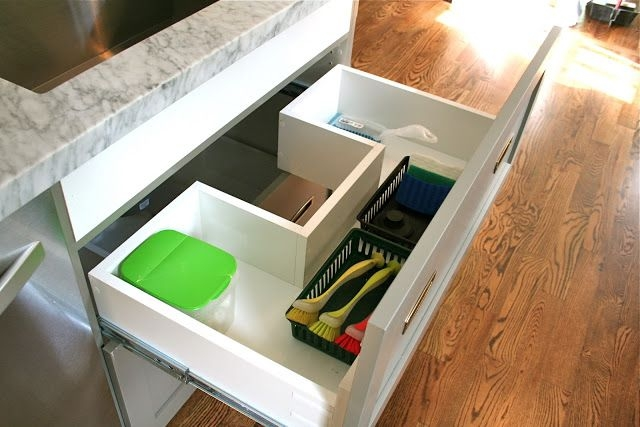 Design Dump Drawers Under The Kitchen Sink