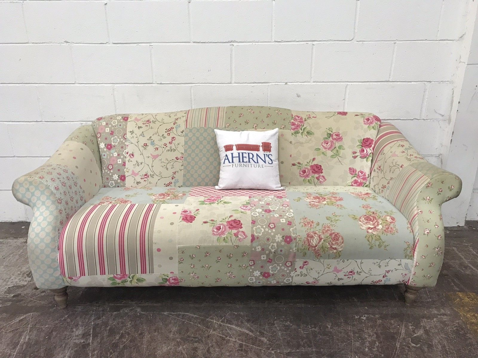 Dfs Doll Sofa Pastel Patch Work Sofa 2  3 Seater  Aherns Furniture