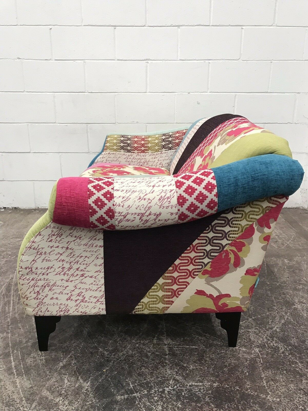 Dfs Shout Patchwork Sofa From The Capsule Range  Aherns Furniture