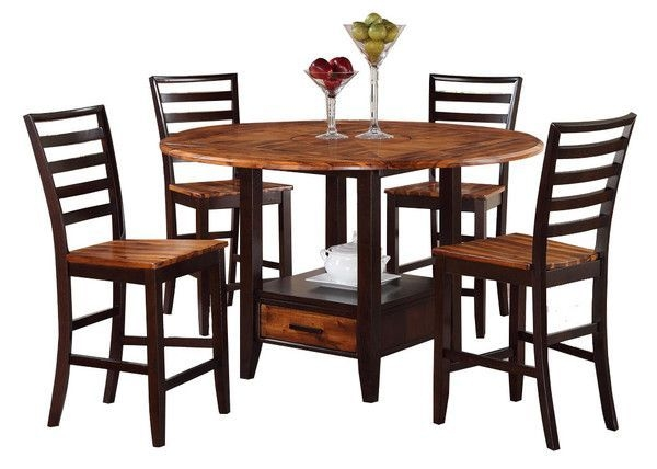 Dining Room Table Acacia Honey Counter Height Tablewarehouse M At Kensington Furni