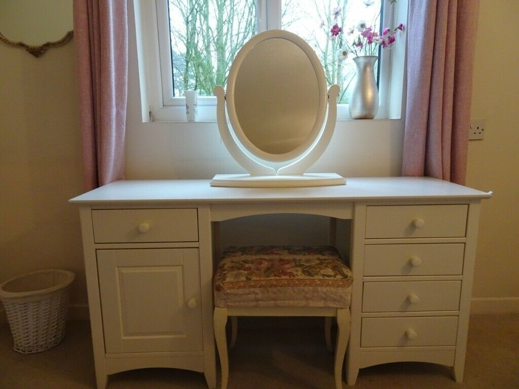 Dunelm Mill White Bedroom Furniture  4 Pieces  In Bowdon Manchester  Gumtree