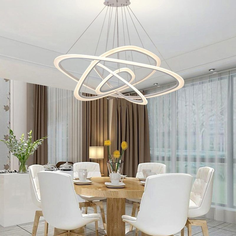 Dutti D0001 Led Chandelier Freedom Light Creative Personality Dining Room Modern Minimalist