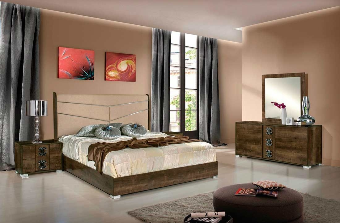Eco Leather Italian Bed Vg Adelfa  Modern Bedroom Furniture