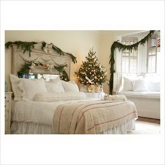 Elegant Interior Theme Christmas Bedroom Decorating Ideas  Family Holidayguide To Family
