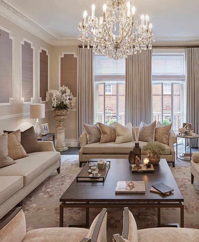 Feminine Elegant Grandeur In This Formal Sitting Room  Formal Living Room Decor Cozy Living