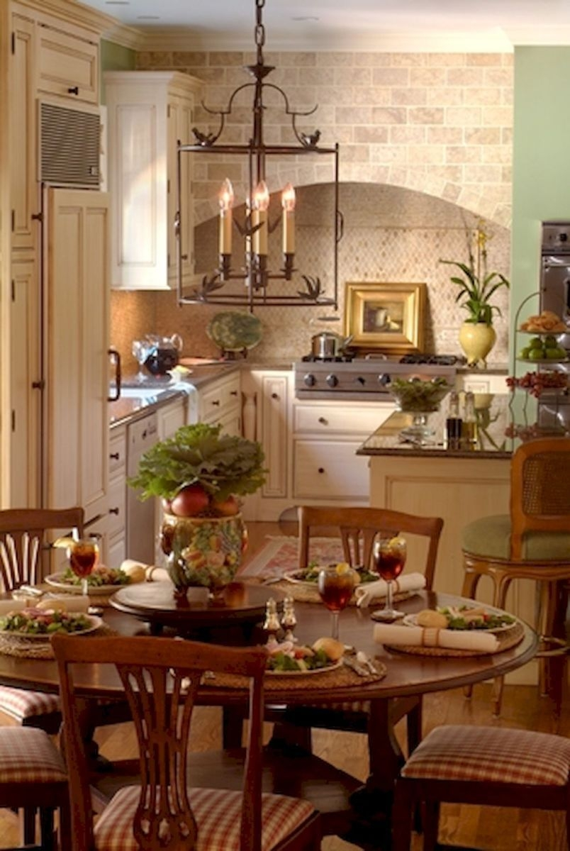 French Country Kitchen Design  Decor Ideas 25  French Country Dining Room French Country