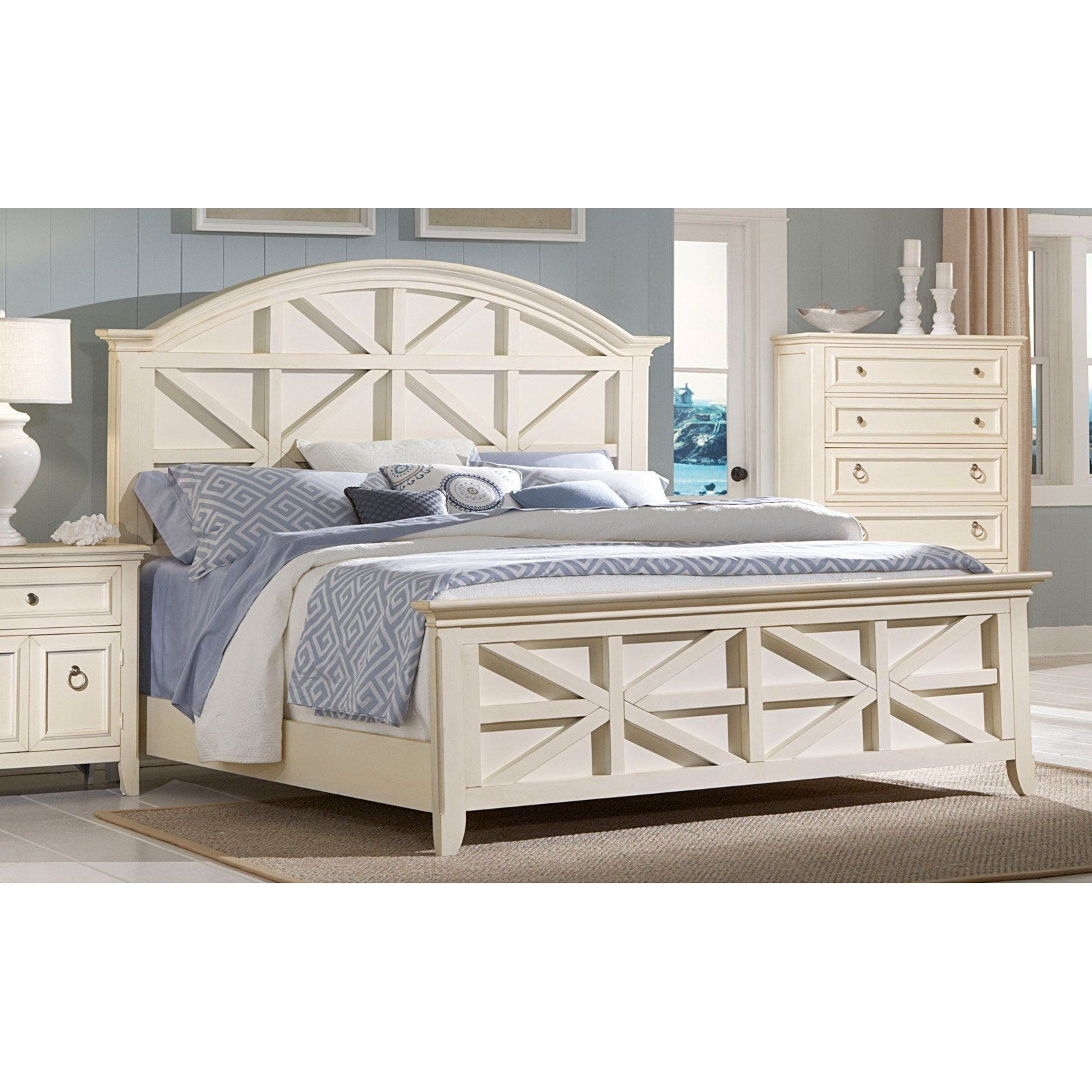 Have To Have It American Woodcrafters Courtyard Panel Bed  810 Hayneedle  Bedroom Panel