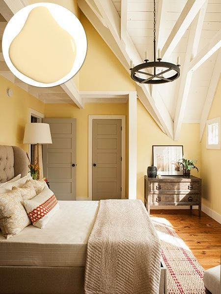 Idea House 2015  Bedroom Colors Bedroom Decor Yellow Walls