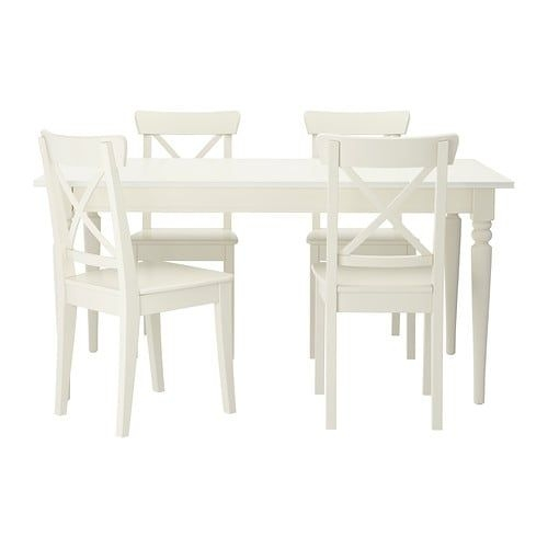 Ingatorp  Ingolf Table And 4 Chairs  Ikea