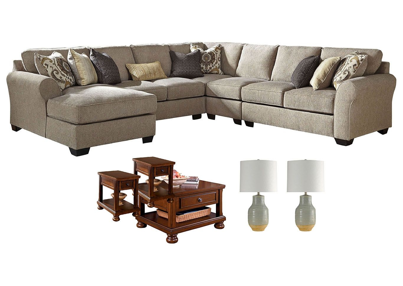 Ivan Smith Pantomine Driftwood Living Room Set