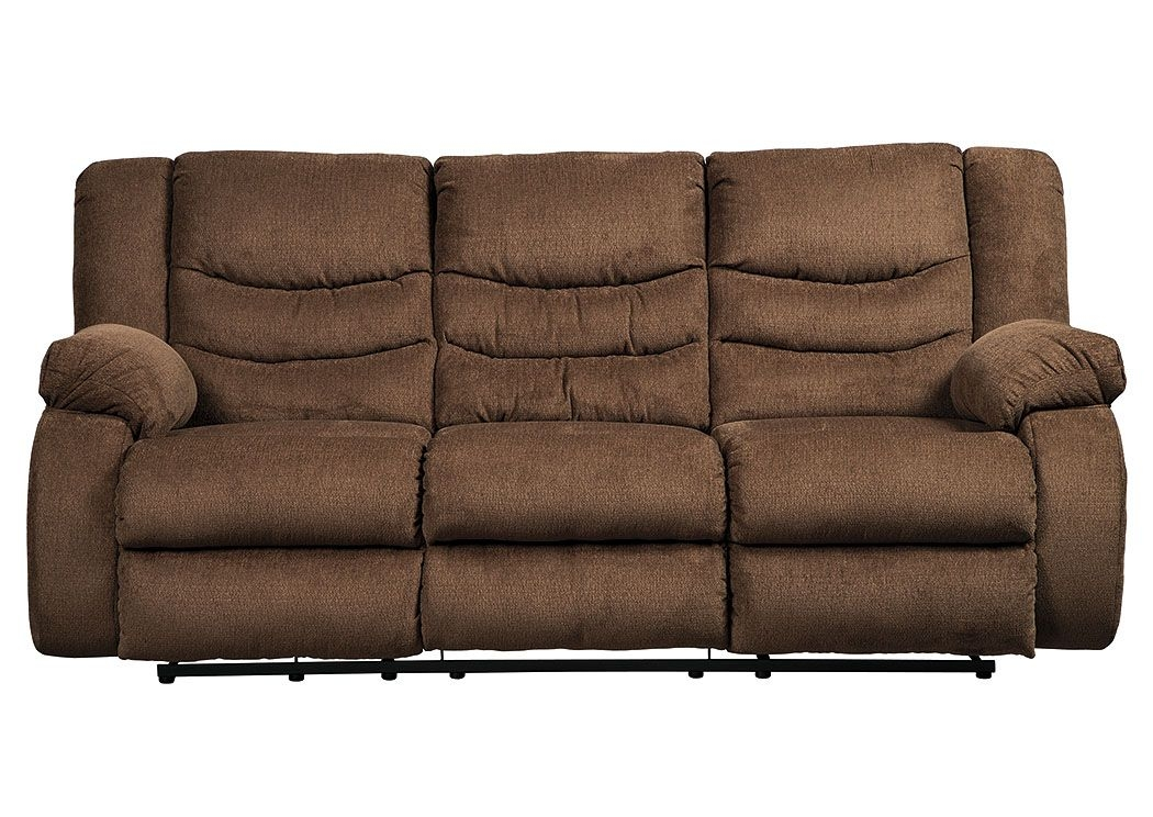 Ivan Smith Tulen Chocolate Reclining Sofa