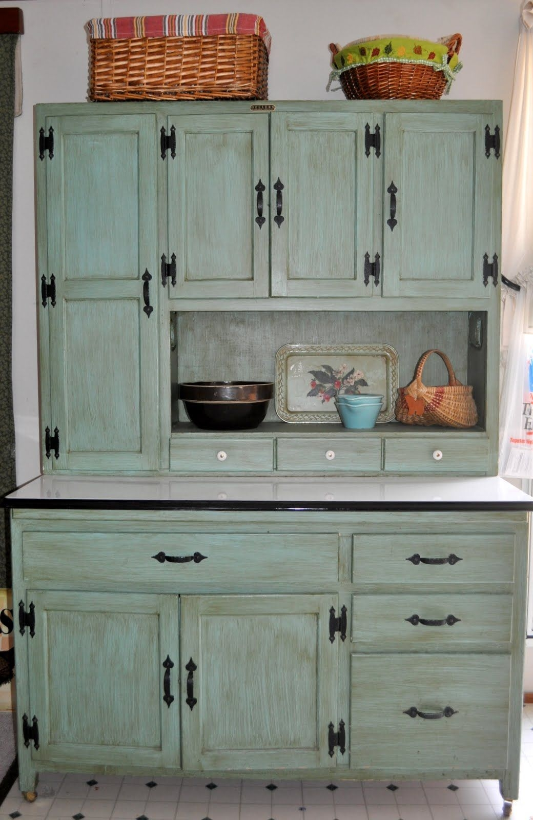 Kitchen Antique Hoosier Cabinet For Sale For Your Kitchen Decor — Lesstestingmorelearning