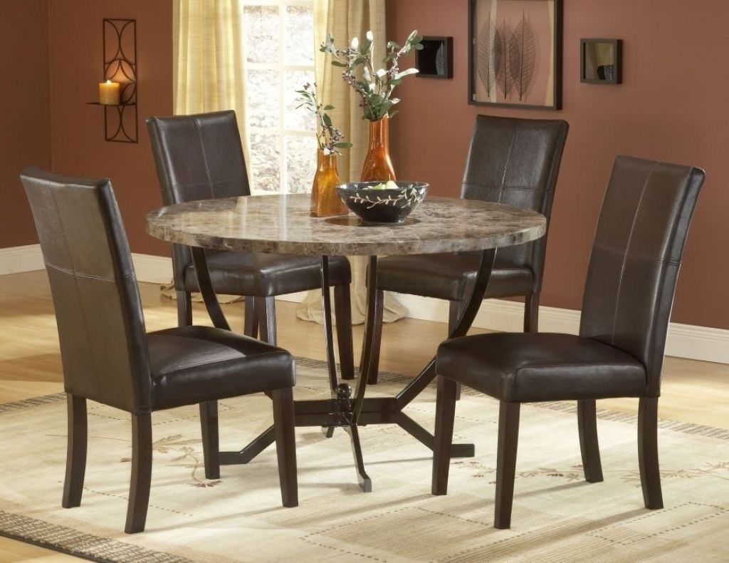 Kitchen Table Sets Walmart  Mesmerizing House Trend As For Round Kitchen Table And Chairs