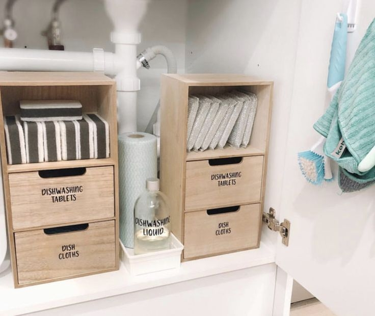 Kmart Must Haves For An Organised Home  Home Organization Bathroom Organisation Sink Storage
