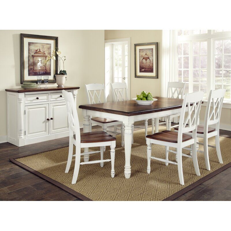 Laurel Foundry Modern Farmhouse Giulia 7 Piece Dining Set  Reviews  Wayfair
