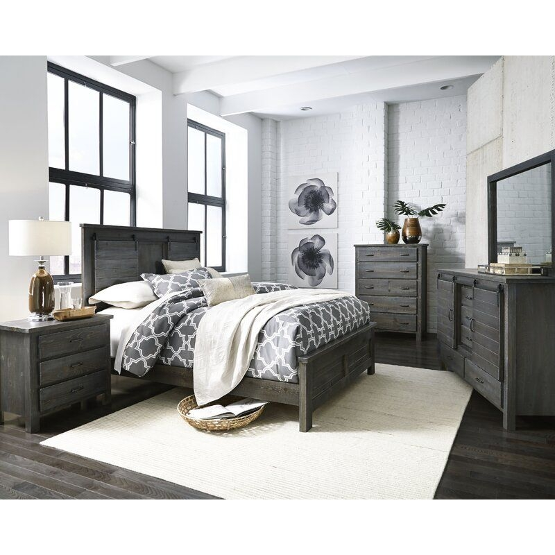 Laurel Foundry Modern Farmhouse Jordyn Standard Configurable Bedroom Set  Reviews  Wayfair