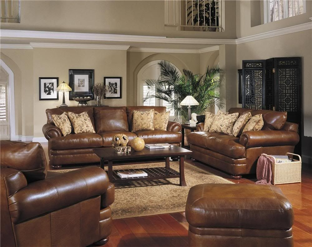 Leather Sofa Beautiful Top Grain Leather All Over Montezuma Collection Over Sized In Length