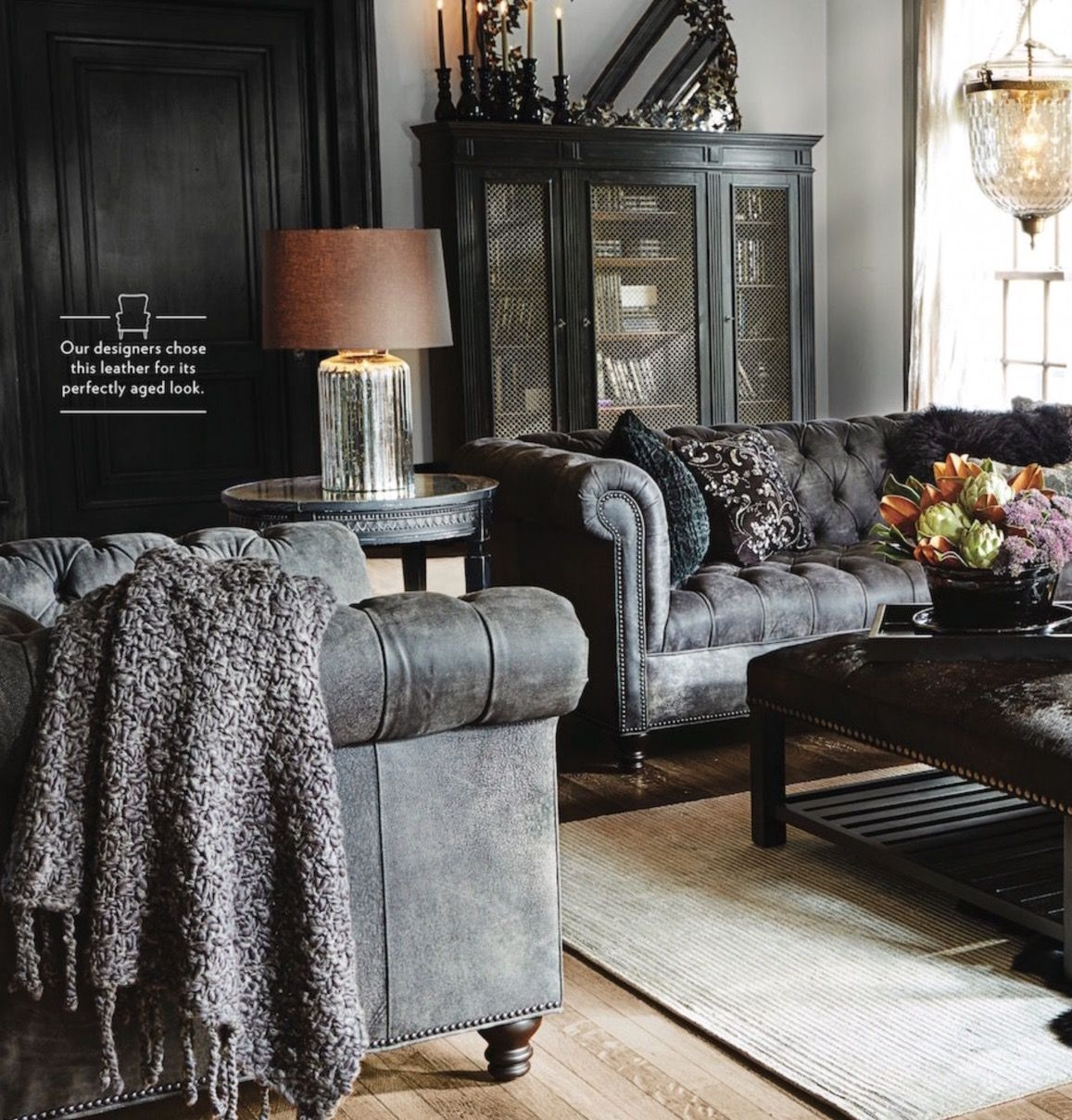 Living A Beautiful Life   Leather Couches Living Room Chesterfield Sofa Living Room
