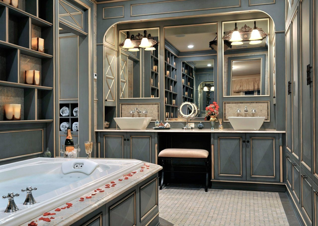 Luxury Bathroom Vanity Mirrors From Kimball  Young  Kitchen Designsken Kelly Long Island