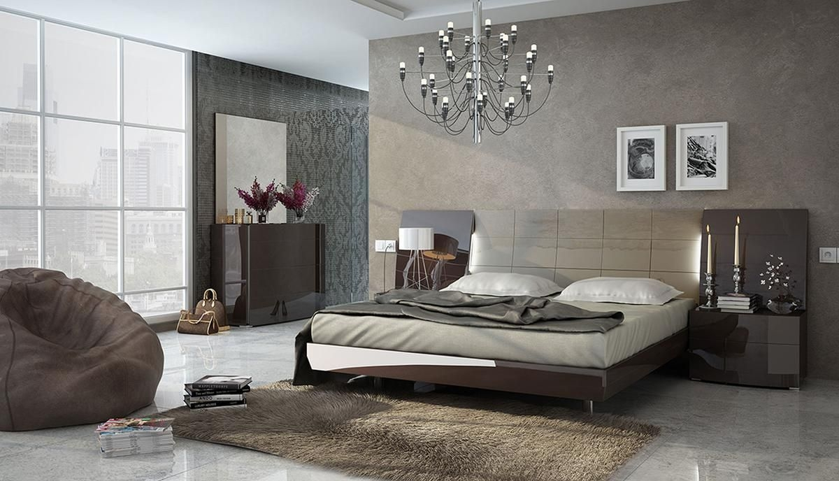 Made In Spain Wood Luxury Contemporary Furniture Set With Extra Storage Omaha Nebraska Esfbarcelona
