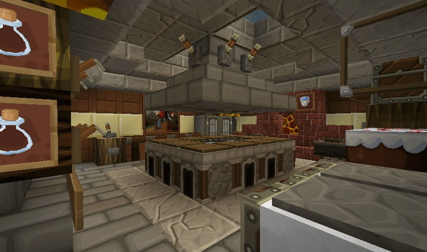 Minecraft Kitchen Minecraft Furniture Kitchen Modern Style Wooden Minecraft  Minecraft House