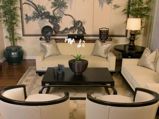 Modern Furniture Asian Living Rooms