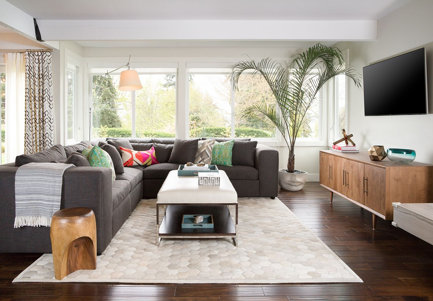 Modern Great Room  Personalized Livable Style  Pulp Design Studios