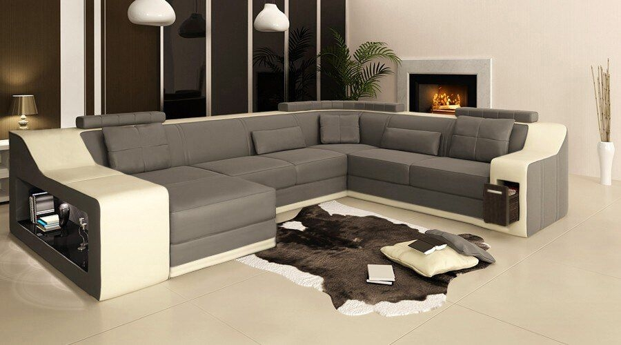 Modern Living Room Sofa Big Leather Sofa 0413 B2007In Living Room Sofas From Furniture On