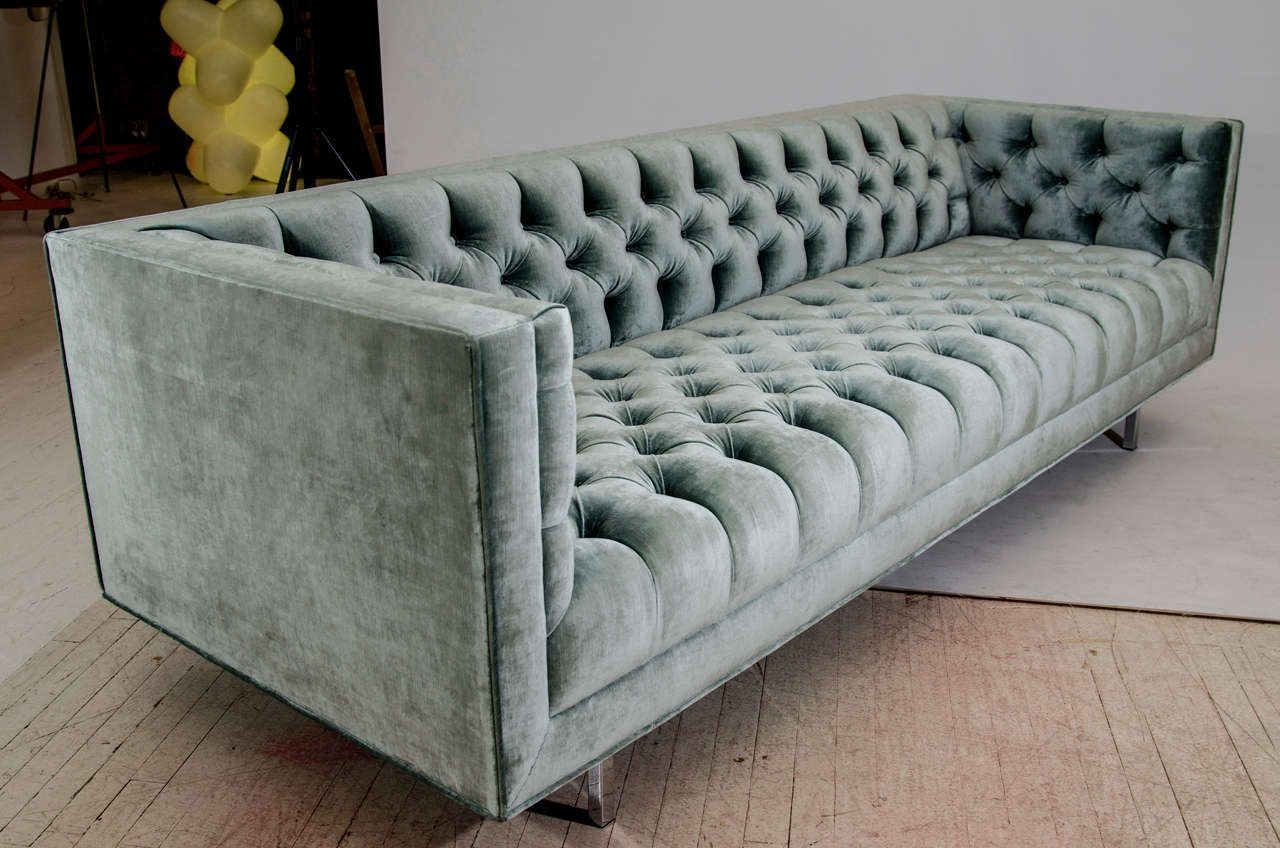 Modern Tufted Velvet Tuxedo Sofa 7  Modern Sofa Designs Vintage Sofa White Sofa Design